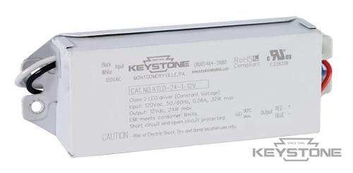 Keystone KTLD-24-1-12V-AK1 24W Constant Voltage LED Driver