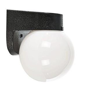 "Sunset Lighting F4309-31 Black 1 Light 7"" Height Outdoor Wall Sconce"