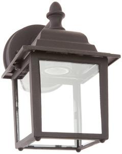 "Sunset Lighting F7850-31 Black 1 Light 8.75"" Height Outdoor Wall Sconce"