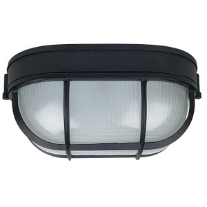 "Sunset Lighting F7991-31 Black 1 Light 11"" Height Outdoor Wall Sconce"