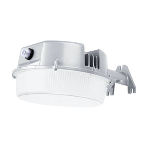 27W LED Outdoor Dusk to Dawn Yard Light Wall Mount Fixture 5000K