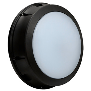 Commercial Outdoor LED Bulkhead with Battery Back Up Open Frame
