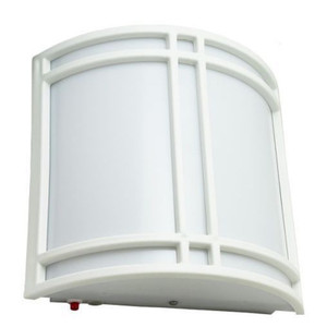 Incon Integrated LED Emergency Battery Back-up Wall Sconce Light White