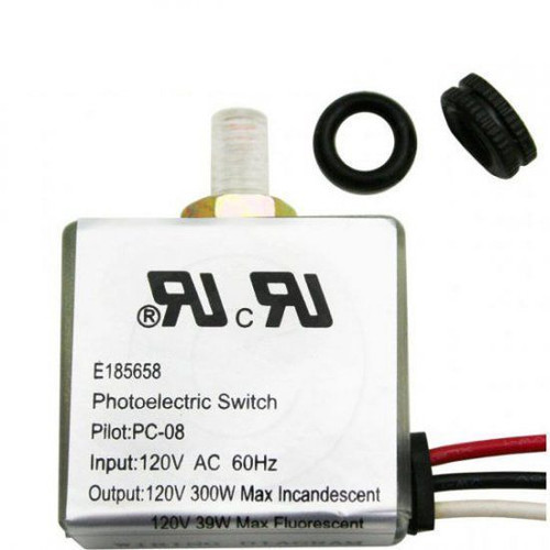 Pilot PC-08 Photoelectric Switch E185658 120V AC Photocontrol