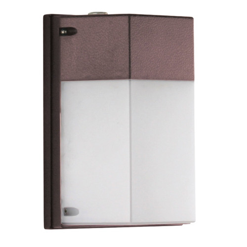 LED IP65 Cutoff Security Wall Light with Photocell