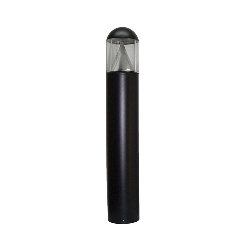 Commercial Round Dome LED Bollard Light with Cone Reflector