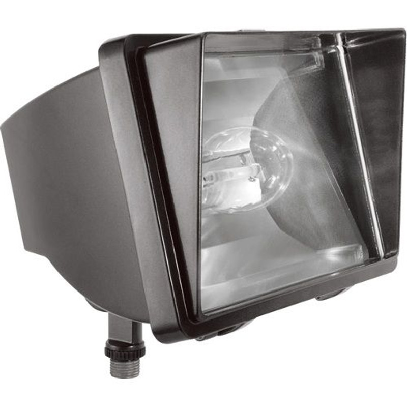 100W Pulse Start Metal Halide Flood Light Fixture Glare Shield