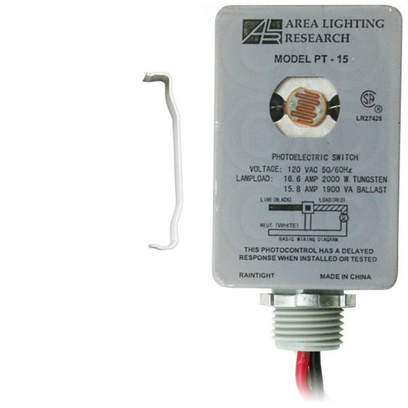 Area Lighting Research Catalog No  PT-15 Photoelectric Switch |