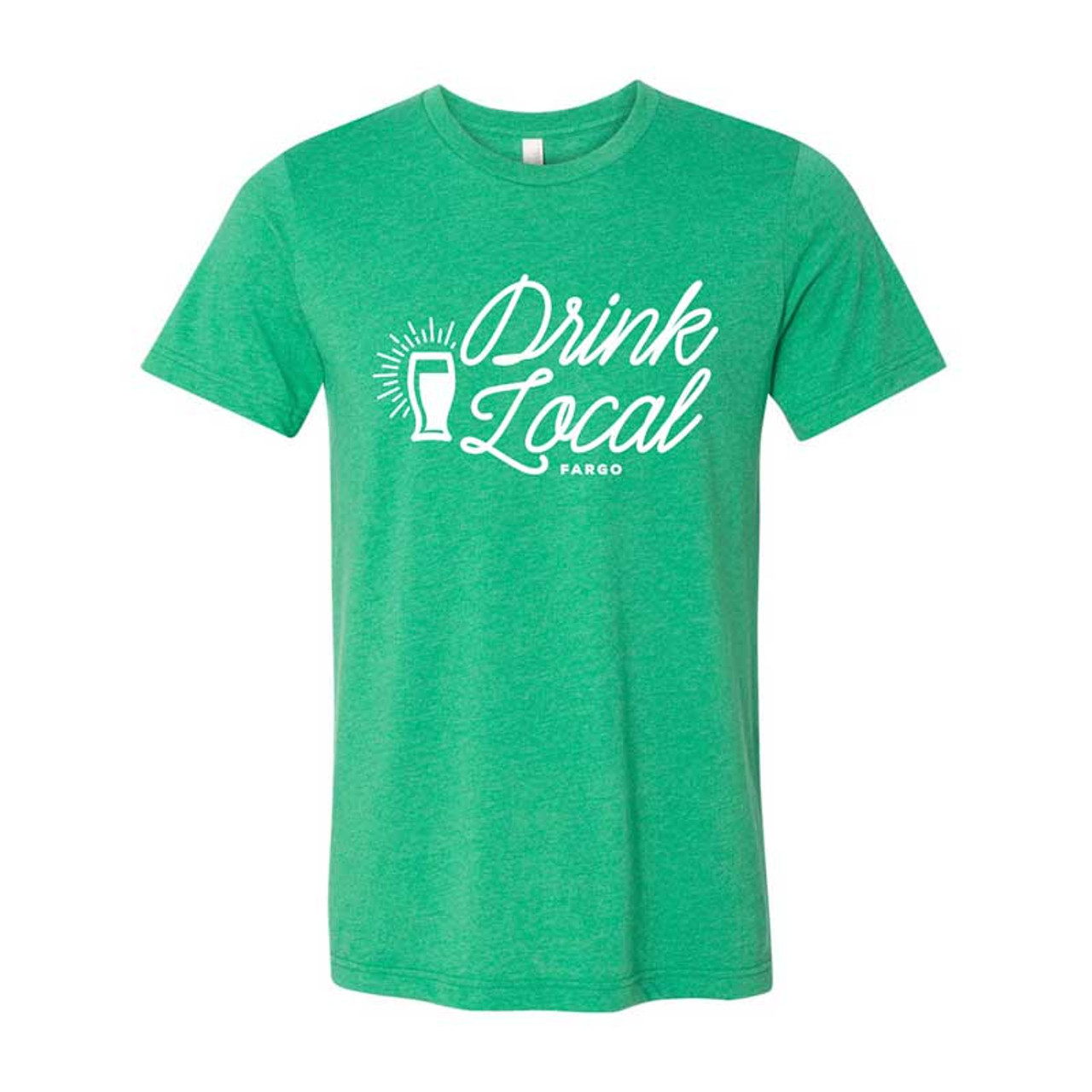 4d9f4e3f00 Shirts from Fargo - Drink Local Tee in Kelly Green