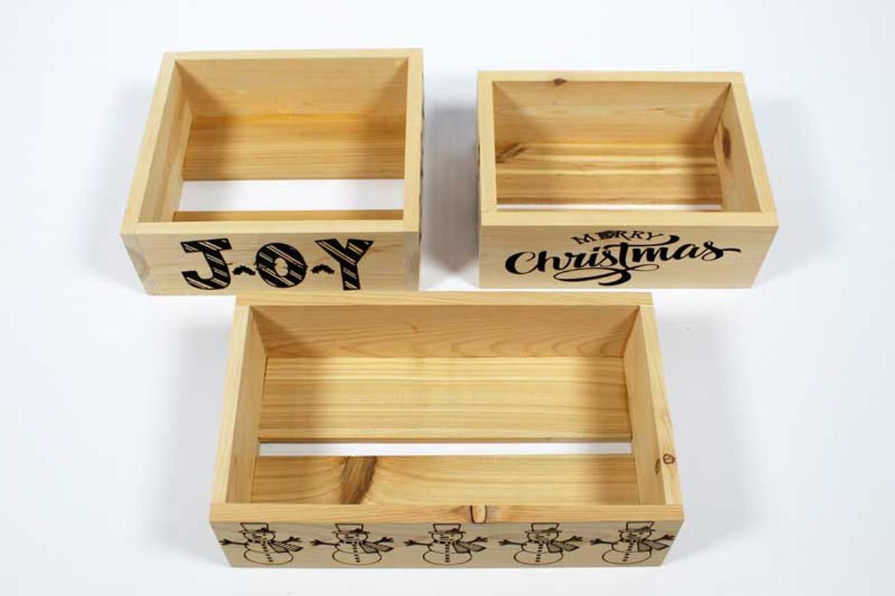 Christmas Crate Box.Vtc Christmas Boxes