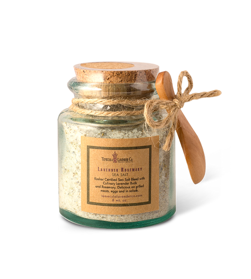 Temecula Lavender Co. Lavender Rosemary Sea Salt.