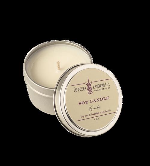 Temecula Lavender Co. Lavender Soy Candle (6 oz.)
