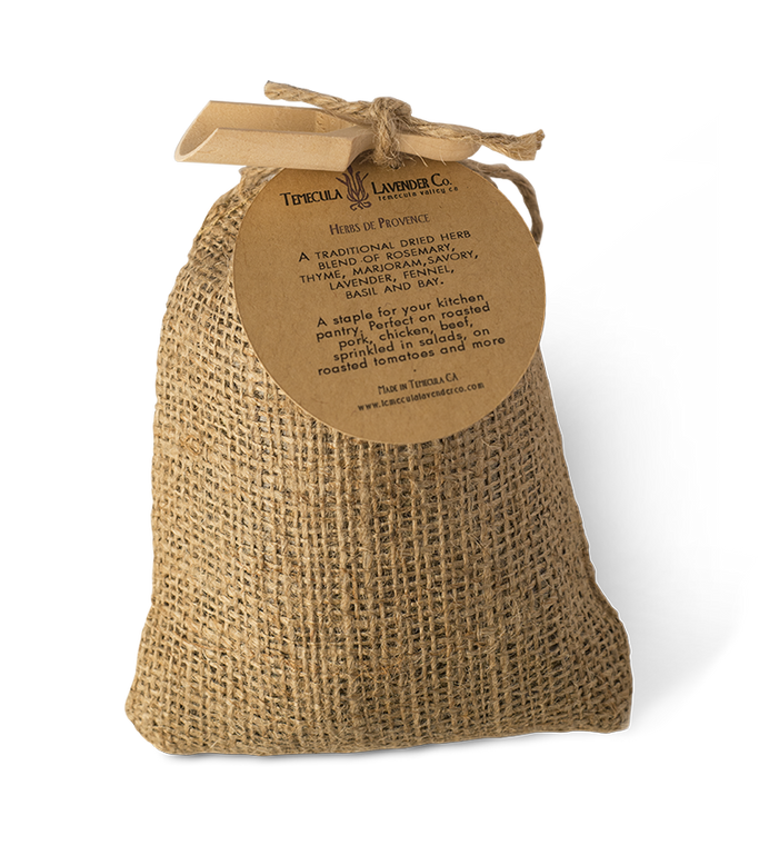 Temecula Lavender Co. Herbs de Provence – a staple for the kitchen pantry.