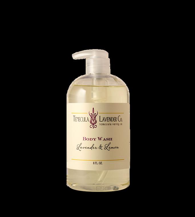 Temecula Lavender Co. Lavender & Lemon Body Wash (8 oz.)