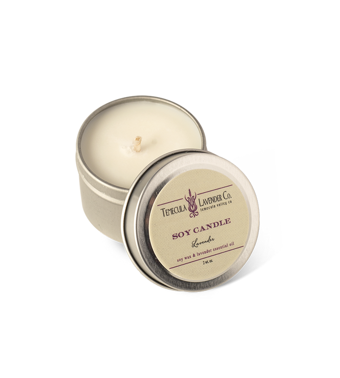 Temecula Lavender Co. Lavender Soy Candle (2 oz.)