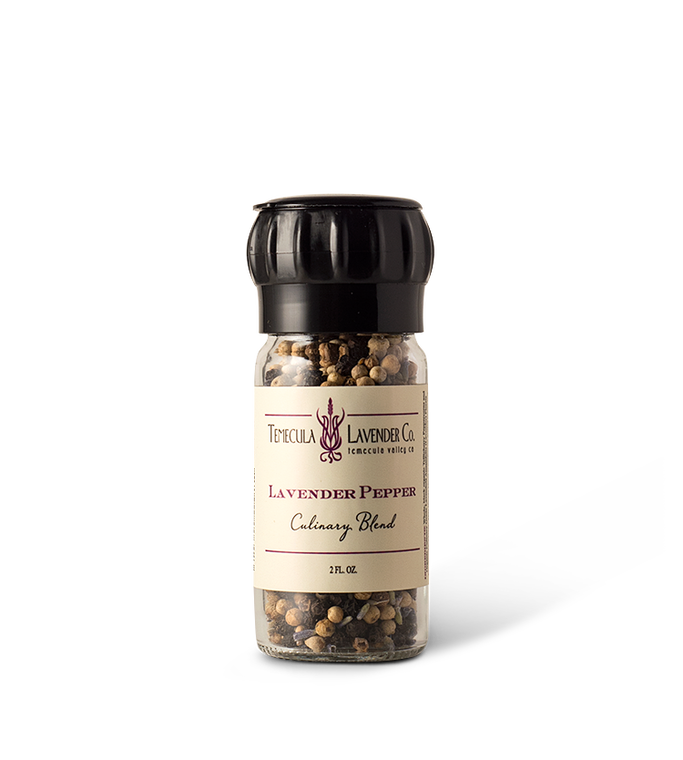 Temecula Lavender Co. Lavender Pepper With Grinder.