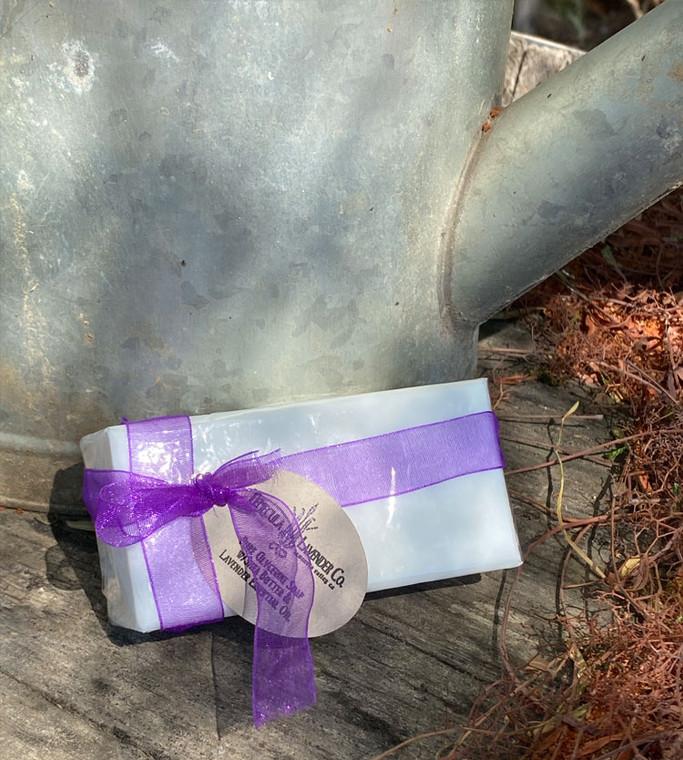 Lavender Shea Soap Bar (Large)