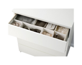 IKEA MALM White Clothes Drawer Opening Drawer
