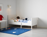 IKEA SUNDVIK Extendable Slatted Bed White