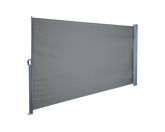 Retractable Awning Side Screen Grey 1.8x3M