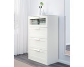 IKEA Clothes Drawers  4 Drawers BRIMNES  White
