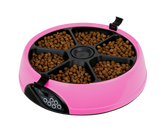 Automatic Pet meal Feeder Pink