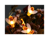 Honey Bee Solar LED String Light