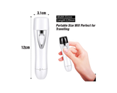 Facial Hair Trimmer  Rechargeable White