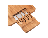Bamboo Cheese Board Cutlery