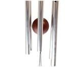 Nature's Melody Wind Chimes 15.6 Inch Silver