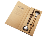 Salad Spoon and Fork Set  gift package