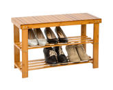 Bamboo Shoe Rack 2-Tier