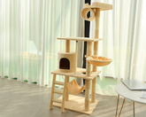 Cat Scratching Post 1.58m Beige