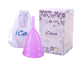 iCare Menstrual Cup Small Purple