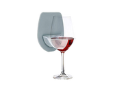 Wall Mounted Wine Glass Holder Grey