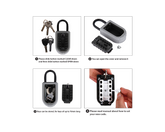 Combination Key Safe Lock Box 10 Digits