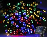 Solar Fairy Lights 200LED 20M Multi Colored