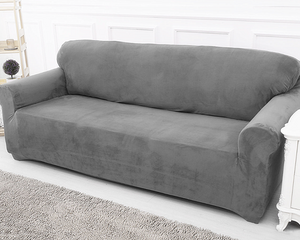 Sofa Cover 2 Seaters Grey