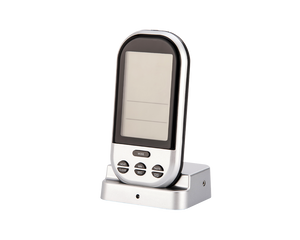 Wireless BBQ Thermometer Silver