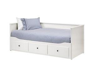 IKEA HEMNES Daybed Frame 3 Drawers White