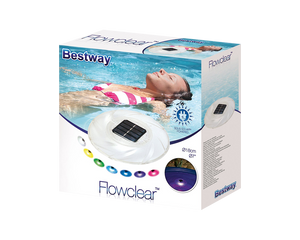 Bestway Swimming Pool Solar  LED Multicolored Lamp