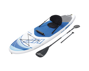 Bestway Hydro Force 10' Oceana Inflatable Stand Up Paddle Board Kayak 2 in 1