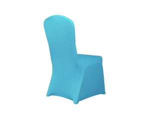 Spandex Dining Chair Cover BLUE 1pc