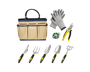 Garden Tools Set Equiptment 9pcs
