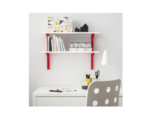 IKEA BURHULT Wall Shelves Red