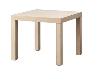 IKEA LACK Side Table Shelf White Stain Oak