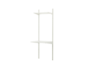 IKEA ALGOT Wall Upright Shelves Drying Rack White
