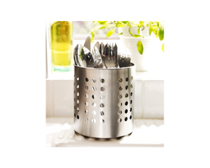 IKEA ORDNING Cutlery Stand Stainless Steel