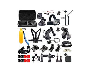GoPro 33in1 Kit Accessories With Case