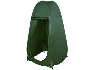 Pop Up Shower Tent Green